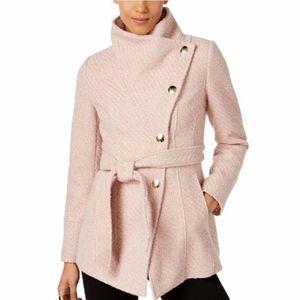 INC International Concepts Textured Wrap Coat